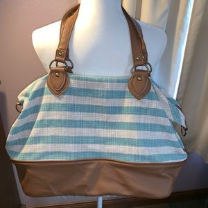 Mossimo 23 inches wide by 15 inches tall Tote